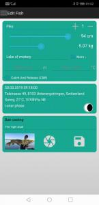fish trace fishing logbook app