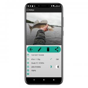 fish trace Fangbuch App Fang